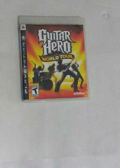 Jogo Guitar Hero.. Com Guitarra