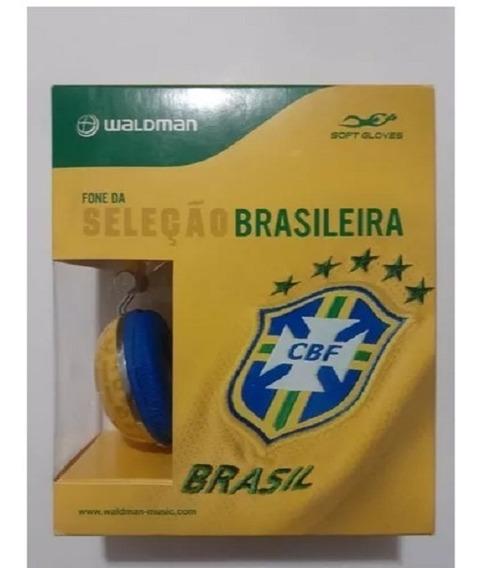 Fone De Ouvido Brasil Oficial Waldman Cbf Seleção Brasileira