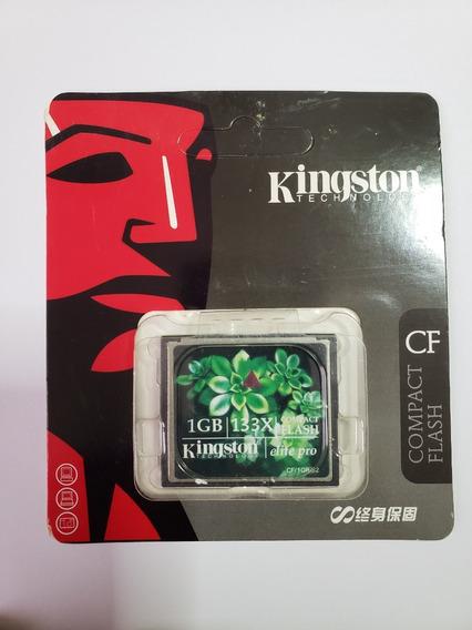 Cartão De Memória Compact Flash (cf) Kingston 1gb