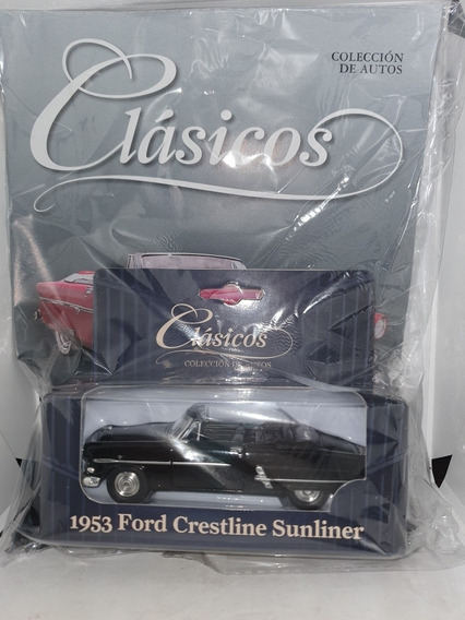 Ford Crestline Sunliner Coleccion Clasicos 1:43