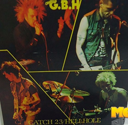 Charged G.b.h. 1983 Catch 23 / Hellhole Compacto Importado