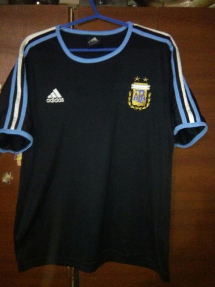Camiseta De Argentina 2004 Negra De Entrenamiento
