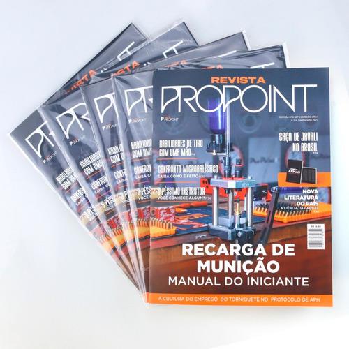 Imagem 1 de 5 de Revista Propoint Vol 1 Manual Básico De Recarga De Munição
