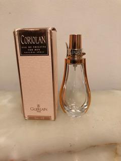 Frasco Perfume Vacío Coriolan By Guerlain X 50 Ml Con Caja
