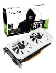 Placa De Vídeo Nvidia Geforce Rtx 2060 Ex White 6gb Galax