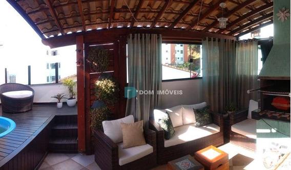 Cobertura Com 3 Dormitórios À Venda, 147 M² Por R$ 530.000,00 - São Mateus - Juiz De Fora/mg - Co0261