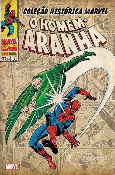 Colecao Historica Homem-aranha 5,6,7,8 E 12