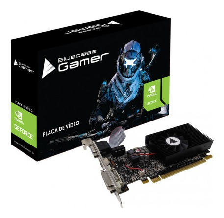 Placa De Video Gamer Geforce Nvidia Gt730 2gb Ddr3 Gt 730