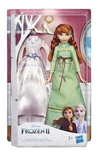 Muñeca Frozen Hasbro E5500 Elsa Anna Fashion Princesa Edu