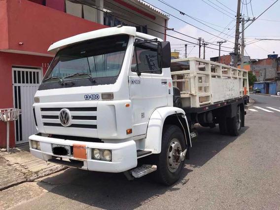 Vw 13180 Carroceria De Carregar Gás Com Plataforma !!!!!