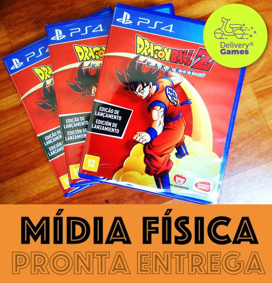 Dragon Ball Z Kakarot Ps4 Mídia Física Lacrado + Nf