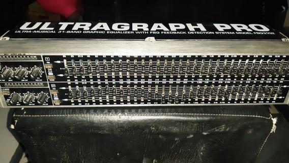 Equalizador Behringer De 31 Band Fbq 3102