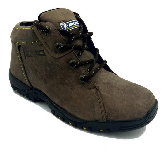 Zapato Michelin Sport Amg Café Hombre