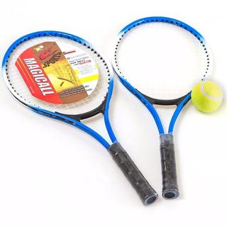 Kit Raquetes De Tênis Com 2 Raq 1 Bola E Capa Yw301