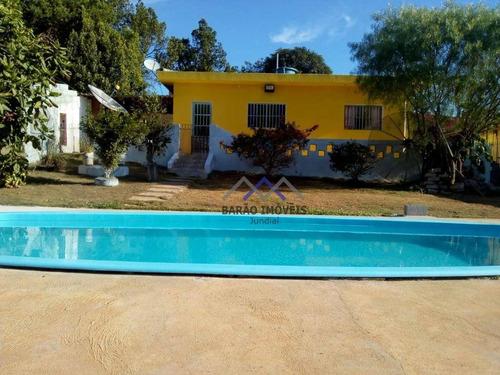 Chácara Com 2 Dormitórios À Venda, 750 M² Por R$ 375.000,00 - Jarinu - Jarinu/sp - Ch0047