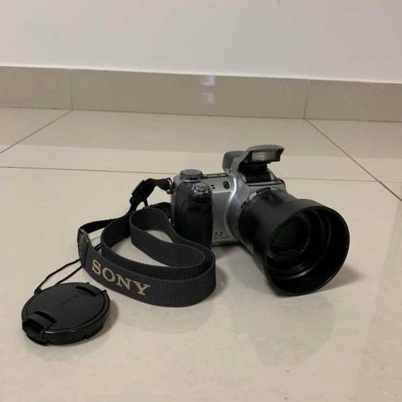 Câmera Semiprofissional Sony Super Steady Shot Dsc-h5