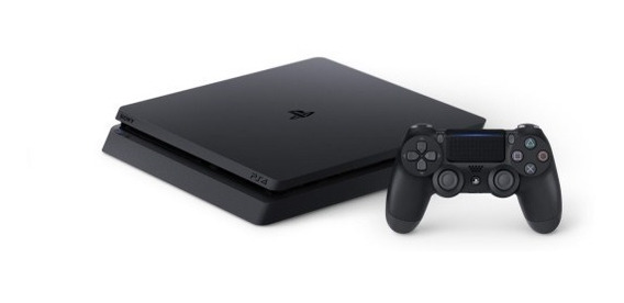 Ps4 Playstation 4 Slim 1tb 3 Jogos + 2 Controles Nota Fiscal