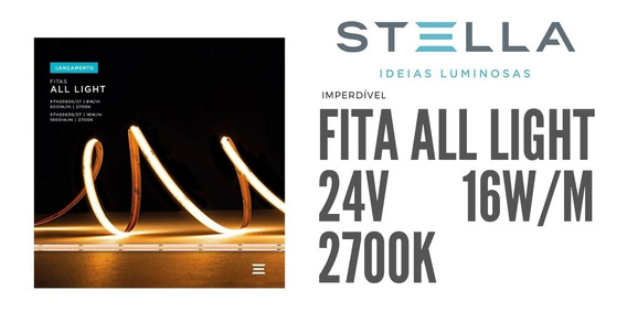 Fita Led Pro All Light Stella 24v 16w/m 2700k 20830/27