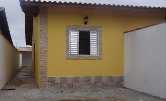 Casas Novas Em Mongaguá, Ótimo Acabamento, 2 Dorms Ref 6089w