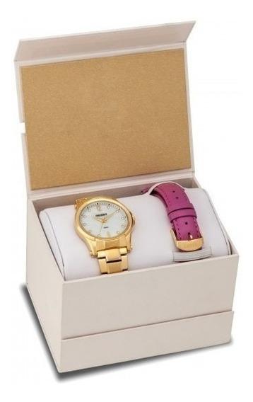 Relógio Orient Fgss0063 B2kx Eternal Feminino Dourado