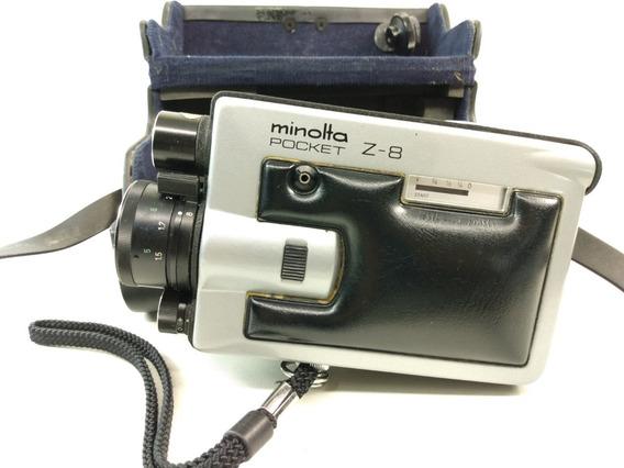 Filmadora Super 8 Mm Minolta Pocket Z8