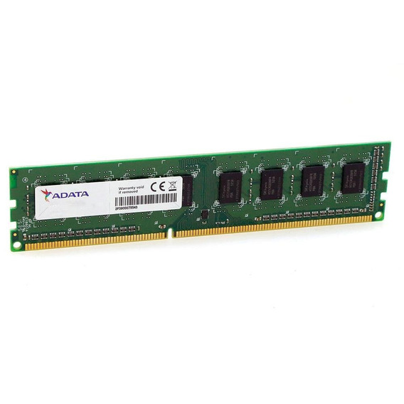 Memoria A-data 4gb Cl11 1600mhz Ddr3 Dimm Sr
