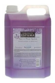 Kit 3 Galões 5l - Sabonete Espuma Aroma Sensitive Das Flores