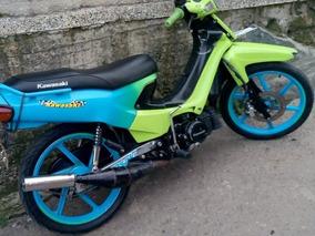 Kawasaki Magic Color Verde Con Azul