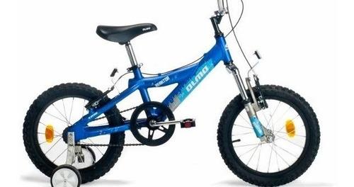 Bicicleta Olmo Rod 16 De Aluminio Reaktor Gris Y Negranuevas