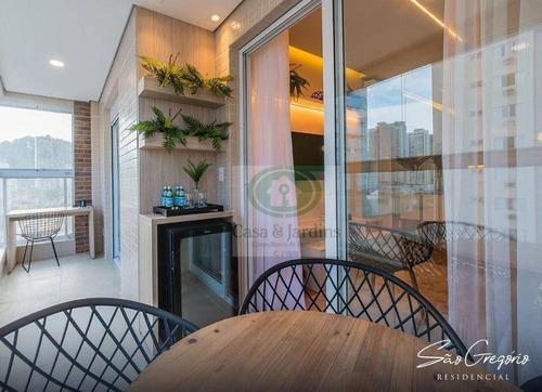 Imagem 1 de 12 de Apartamento Com 2 Dormitórios À Venda, 66 M² Por R$ 679.000,00 - Campo Grande - Santos/sp - Ap6765