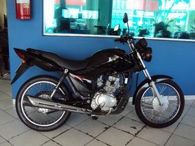 Honda Cg 125 Fan Es Modelo 2012 Preta Motor Novo Campinas Sp