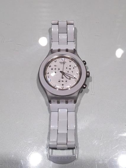 Relógio Swatch Irony Branco