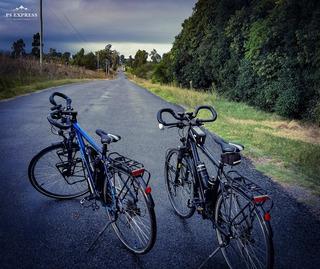 Bici Cube Touring Full De Cicloturismo