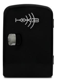 Mini Refrigerador E Aquec. Portátil Preto Kx3 12v 4,5 Litro