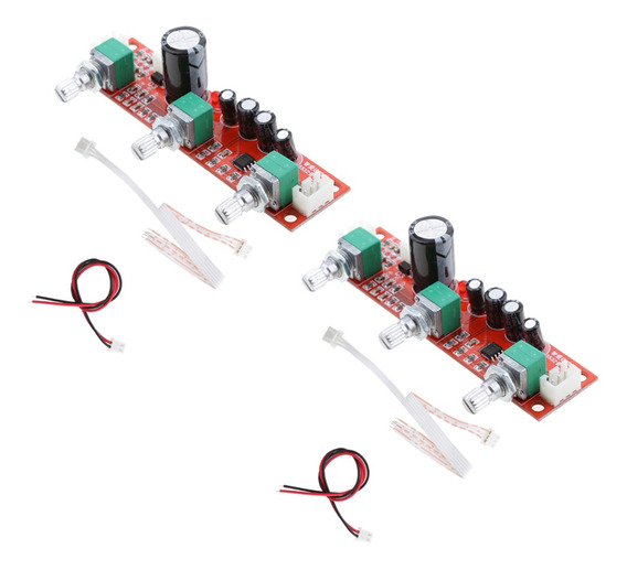 2 Peças Ne5532 Amplificador Pré-amplificador De Som Placa De