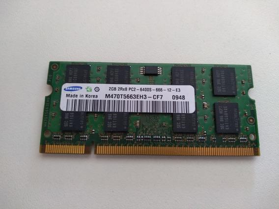 Memória Ram Ddr2 Notebook Samsung