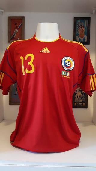 Camisa Futebol Selecao Romenia Despedida Ronaldo