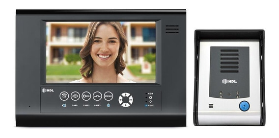 Interfone Residencial Hdl Câmera Seven S Siga-me Touch 7 Pol