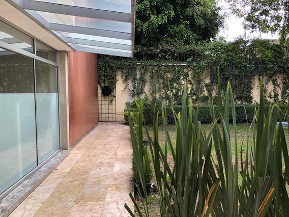 Casa Grande Con Permiso Para 3 Casas En Tlalpan