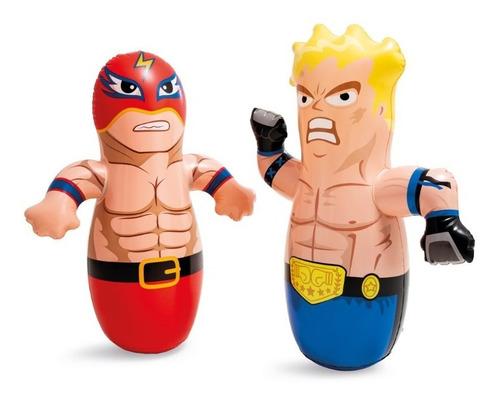 Imagen 1 de 4 de Bobo Muñeco Luchador Inflable Golpeable Para Niños Punching