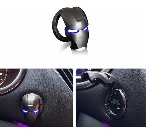 Imagen 1 de 6 de Accesorio Para Boton De Arranque Y Frenado De Motor De Auto
