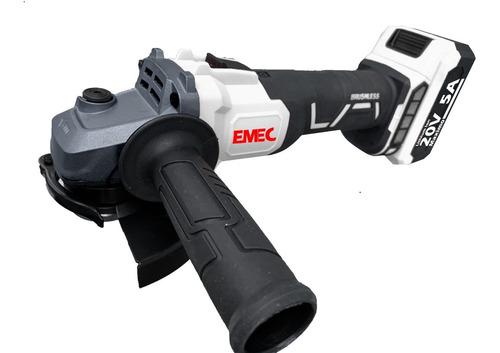 Esmeriladora Pulidora 20v Brushless 2 Bateri Emec Egbl20v2x5