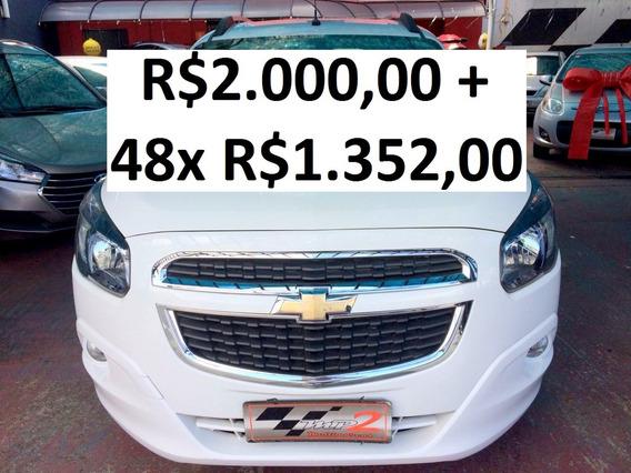 Chevrolet Spin 1.8 Ltz 7lugares - R$2.000 + 48x R$1.352,00