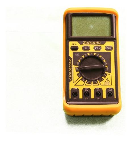Osciloscopio Portátil Automotriz Zetronic + Pack Dvd