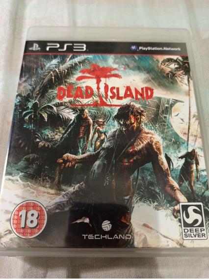 Jogo Ps3 - Dead Island Original E Mídia Física