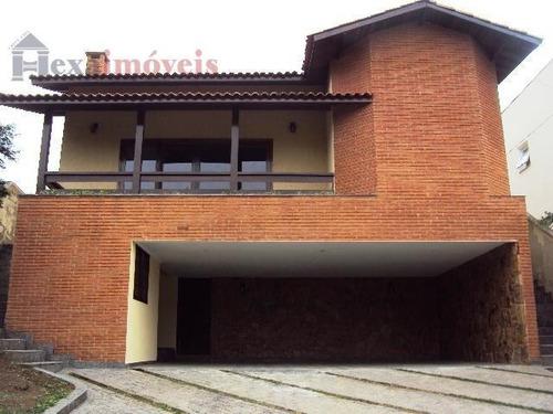 Casa Com 3 Dormitórios À Venda, 303 M² Por R$ 1.300.000,00 - Morada Das Flores (aldeia Da Serra) - Santana De Parnaíba/sp - Ca0374