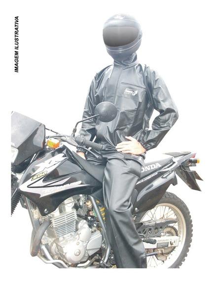 Conjunto Para Motoqueiro G Refletivo Plastnova
