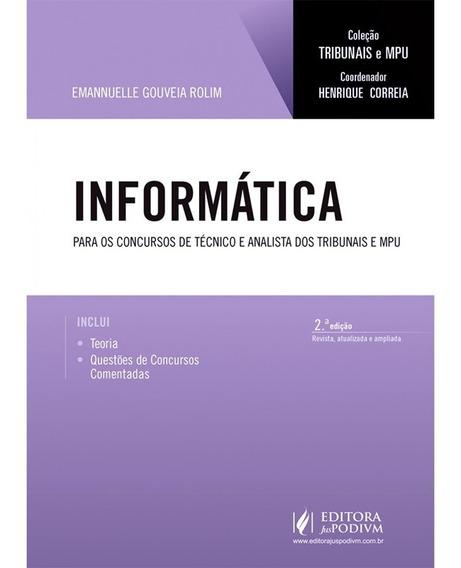Informática Para Os Concursos De Técnico E Analista