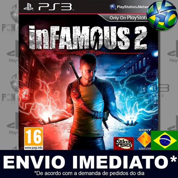 Infamous 2 Ps3 Psn Jogo Em Promoção A Pronta Entrega Play 3