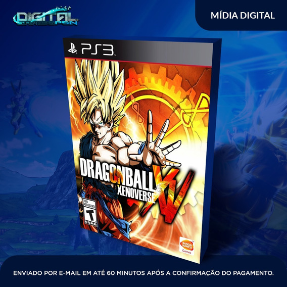 Dragon Ball Xenoverse Ps3 Midia Digital Em 10 Min!